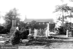 Wilmslow, Dean Row Chapel 1897