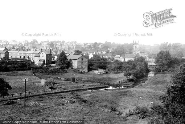 Photo of Wilmslow, From Railway Viaduct 1897
