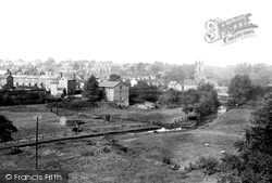 Wilmslow, From Railway Viaduct 1897