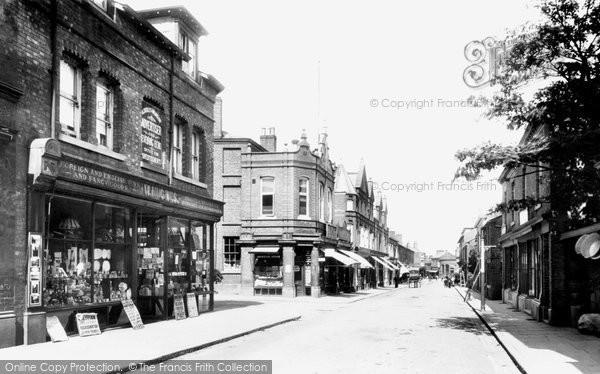 Photo of Wilmslow, Grove Street 1897