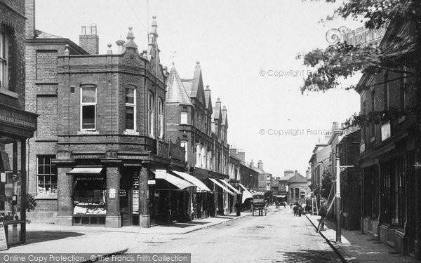 Photo of Wilmslow, Grove Street 1897