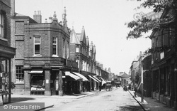 Wilmslow, Grove Street 1897