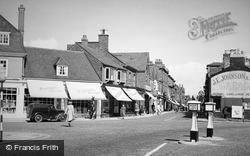 Wilmslow, Grove Street c.1955