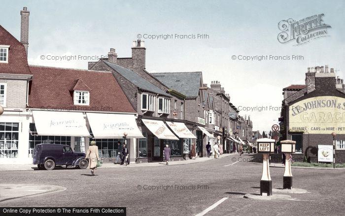 Photo of Wilmslow, Grove Street c.1955