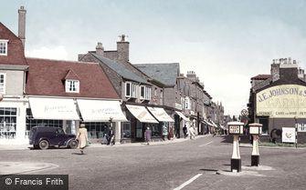 Wilmslow, Grove Street c1955