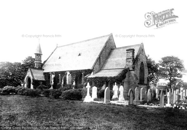 Photo of Wilmslow, Lindow Church 1897