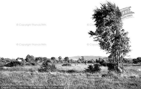 Photo of Wilmslow, Lindow Common c.1955
