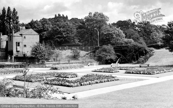 Photo of Wilmslow, Memorial Gardens c.1955