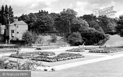 Wilmslow, Memorial Gardens c.1955