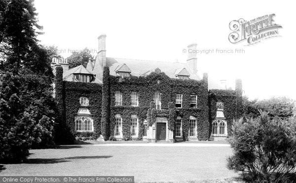 Photo of Wilmslow, Pownall Hall 1897