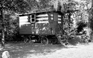 Wilmslow, Romany's Caravan c1955