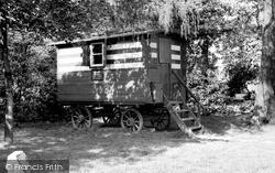 Wilmslow, Romany's Caravan c.1955