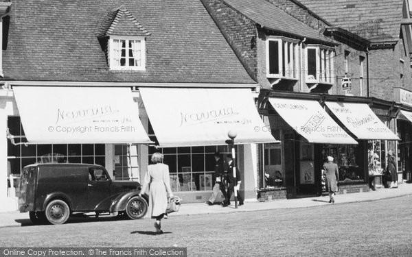 Photo of Wilmslow, Shops In Grove Street c.1955