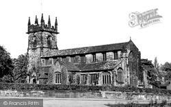 Wilmslow, St Bartholomew's Church c.1955