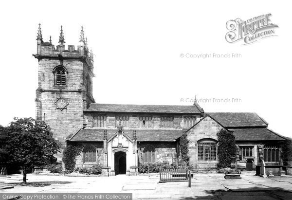 Photo of Wilmslow, St Bartholomew's Church From The South 1896