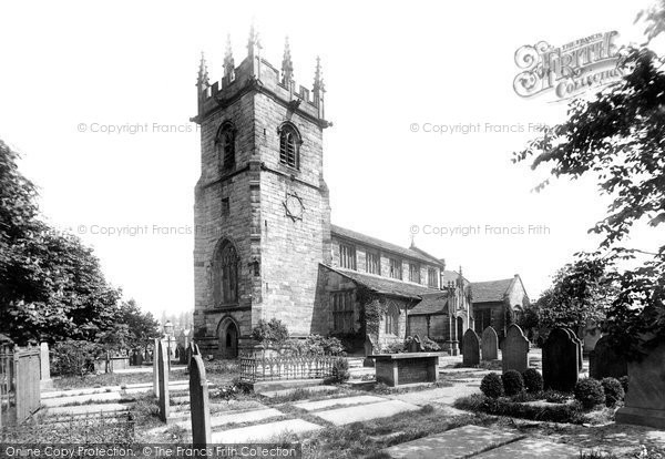 Photo of Wilmslow, St Bartholomew's Church From The South West 1896