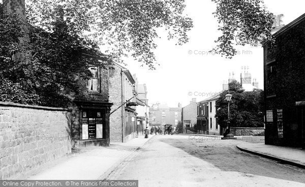 Photo of Wilmslow, Station Road 1897