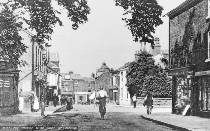 Photo of Wilmslow, Station Road c.1900