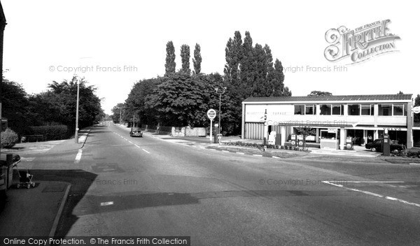Photo of Wilmslow, The Manchester Road c.1965