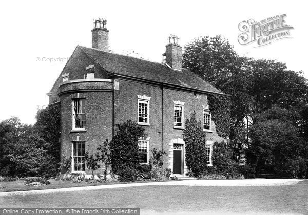 Photo of Wilmslow, The Rectory 1897