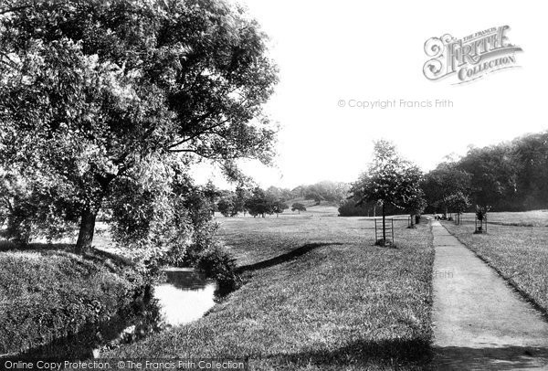 Photo of Wilmslow, The View From Lime Walk 1897