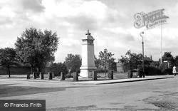 Wilmslow, The War Memorial c.1955