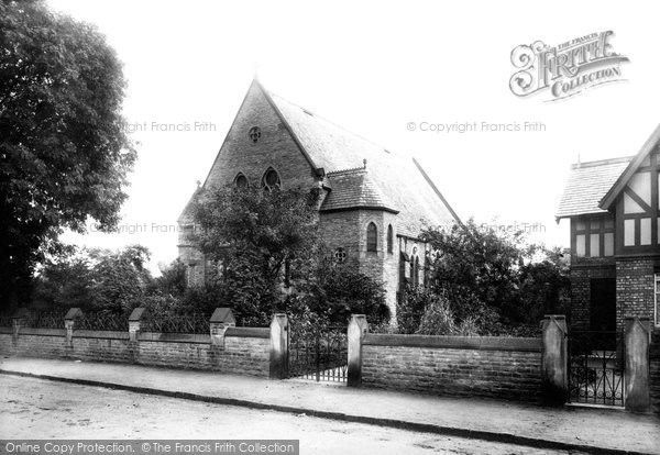 Photo of Wilmslow, Wesleyan Chapel 1897