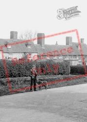 Man With Dog In Village 1903, Wilsley Green