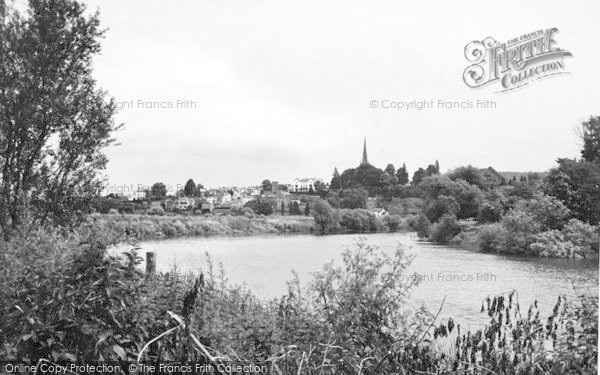 Photo of Wilton, A View Of Ross On Wye From Wilton c.1955