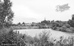 A View Of Ross On Wye From Wilton c.1955, Wilton