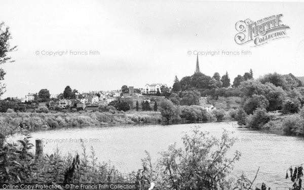 Photo of Wilton, A View Of Ross On Wye From Wilton c.1960
