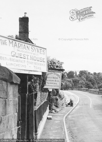 Photo of Wilton, A View Of The Marian Sykes Guest House c.1955