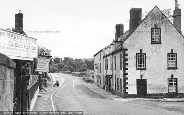 Photo of Wilton, A View Of The Village Towards The Bridge c.1955