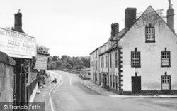 A View Of The Village Towards The Bridge c.1955, Wilton