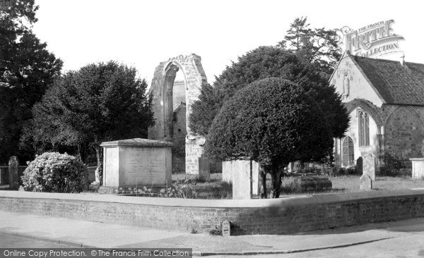 Photo of Wilton, Ancient Parish Church Of St Mary c.1955