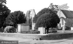 Wilton, Ancient Parish Church Of St Mary c.1955