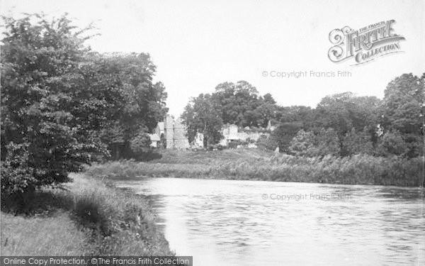 Photo of Wilton, Castle Across River 1891