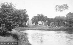 Castle Across River 1891, Wilton