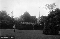 Wilton, Castle And St Cuthbert's Church 1891