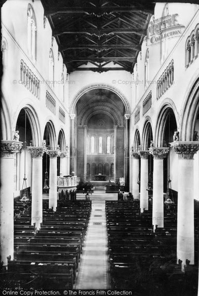 Photo of Wilton, Church From The Gallery 1887