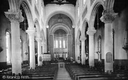 Wilton, Church Interior 1919