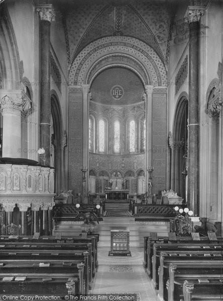 Photo of Wilton, Church Interior 1919
