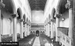 Wilton, Church Interior, The Chancel c.1950