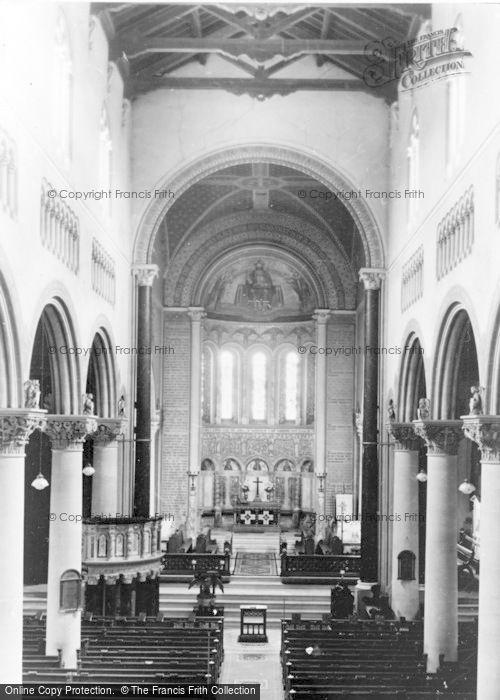 Photo of Wilton, Church Interior, The Choir c.1950