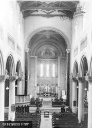 Wilton, Church Interior, The Choir c.1950