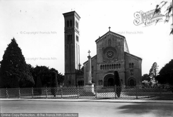 Photo of Wilton, Church Of St Mary And St Nicholas  c.1955