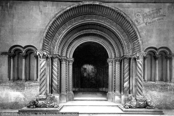 Photo of Wilton, Church Of St Mary And St Nicholas, Door 1887