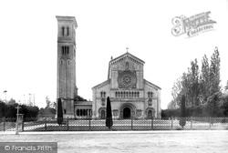 Wilton, Church Of St Mary And St Nicholas, Façade 1887