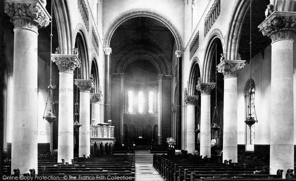 Photo of Wilton, Church Of St Mary And St Nicholas, Interior 1887