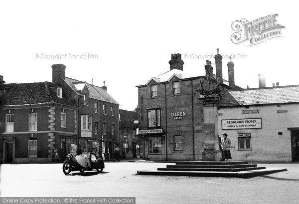 Photo of Wilton, Market Place c.1955